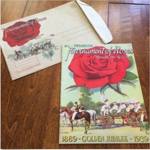 1939 Pasadena Tournament of Roses Golden Jubilee